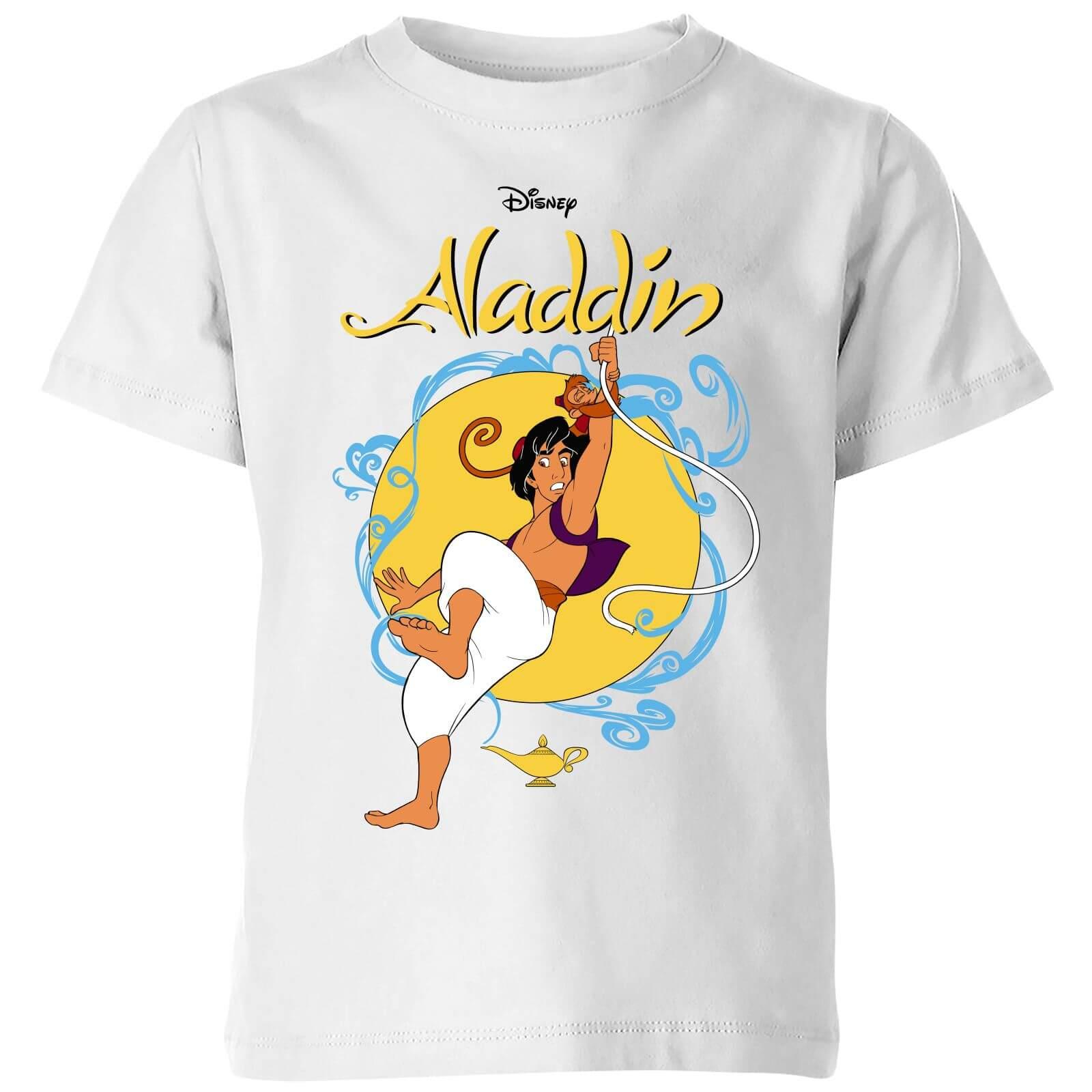 Disney Aladdin Rope Swing Kids T Shirt   White   3 4 Years   White