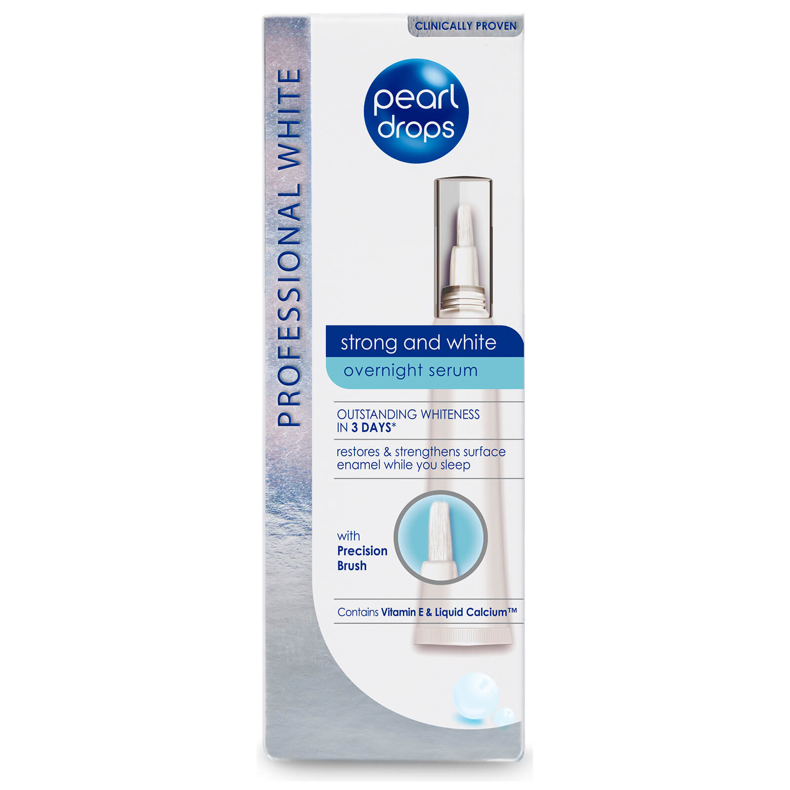 Pearl Drops Strong and White Overnight Serum 15ml  - Купить