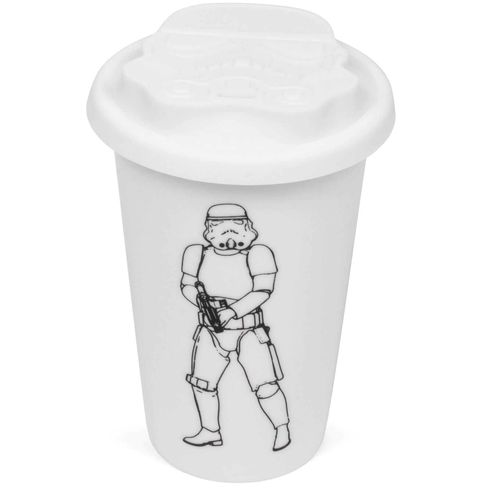 Original Stormtrooper Ceramic Travel Mug - White
