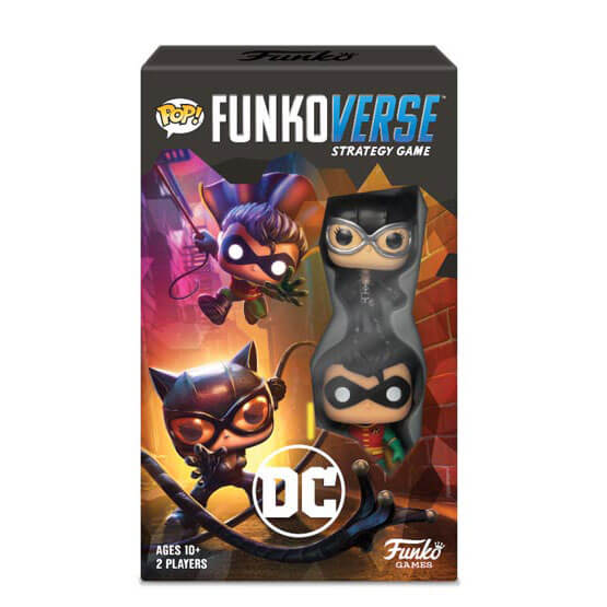 Image of Funkoverse DC Comics Strategy Game (2 Pack)