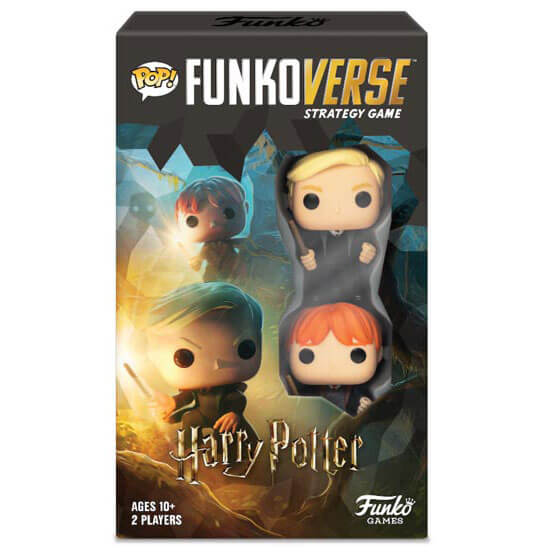 Image of Funkoverse Harry Potter Strategy Game (2 Pack)