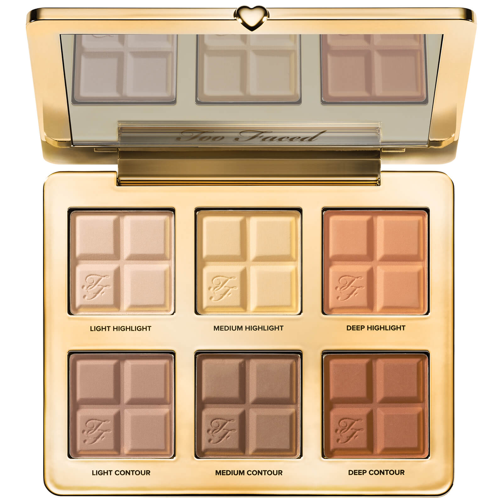 Too Faced Cocoa Contour Cocoa-Infused Contouring and Highlighting Palette 28.5g
