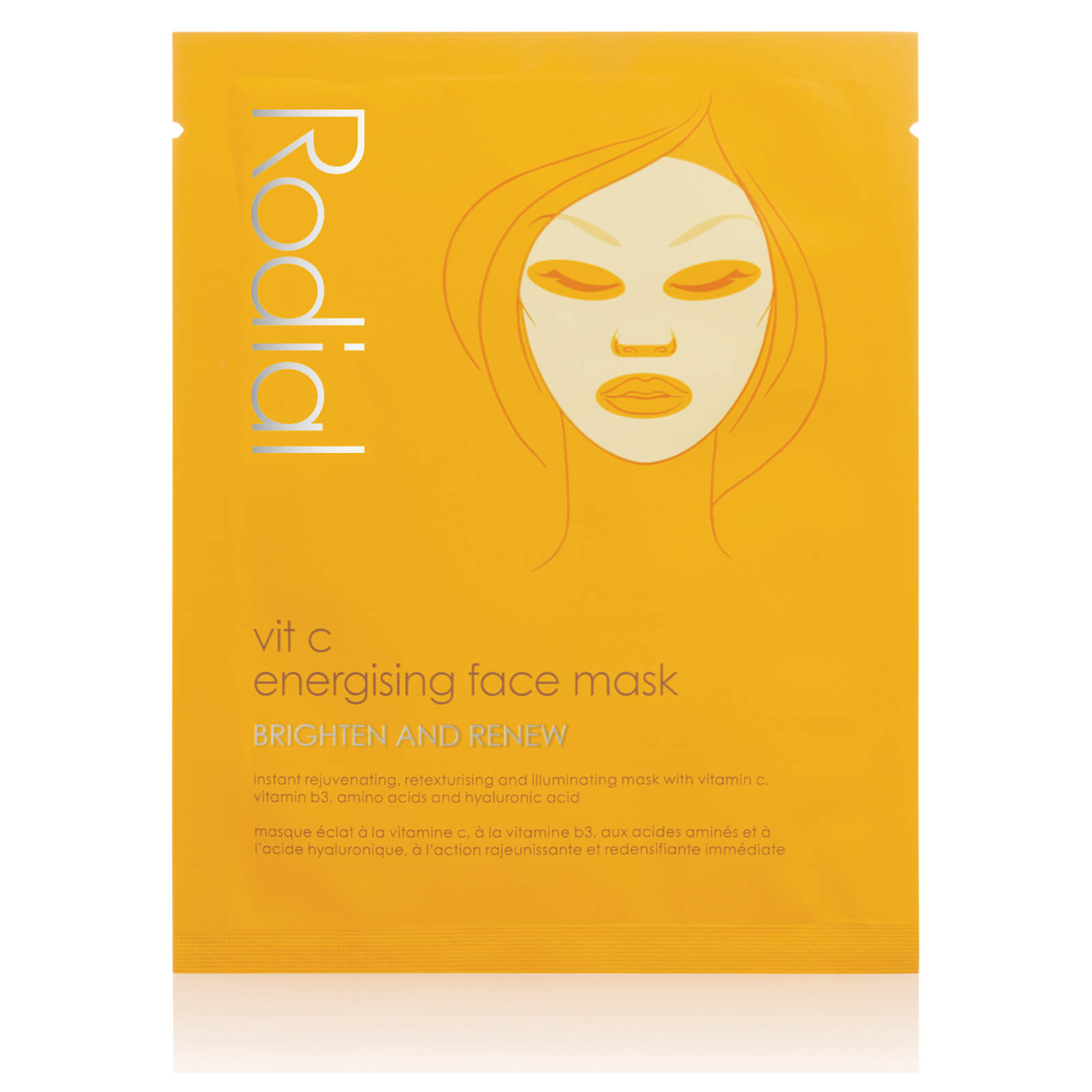Rodial Vitamin C Cellulose Sheet Mask (Single Pack)
