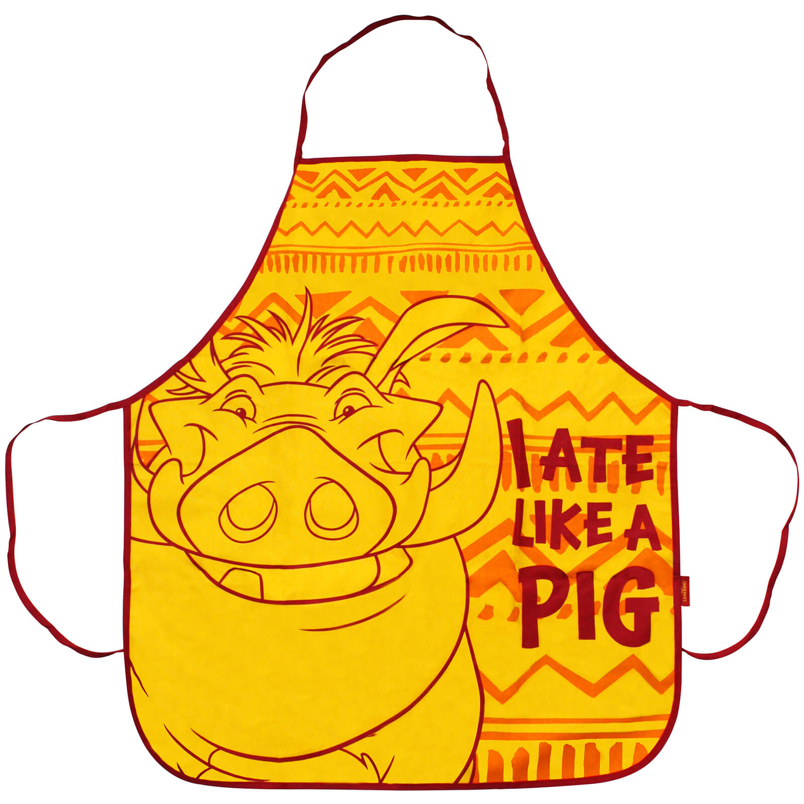 Image of The Lion King Apron - Pumba