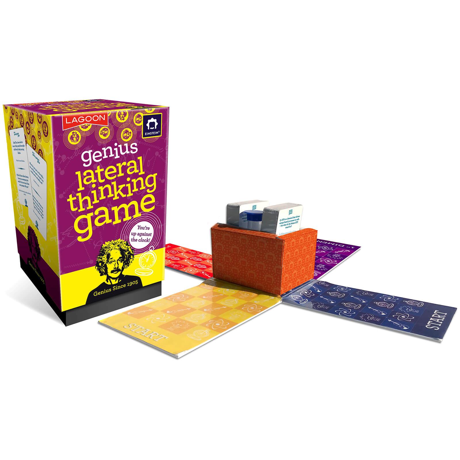 Image of Einstein Genius Lateral Thinking Game