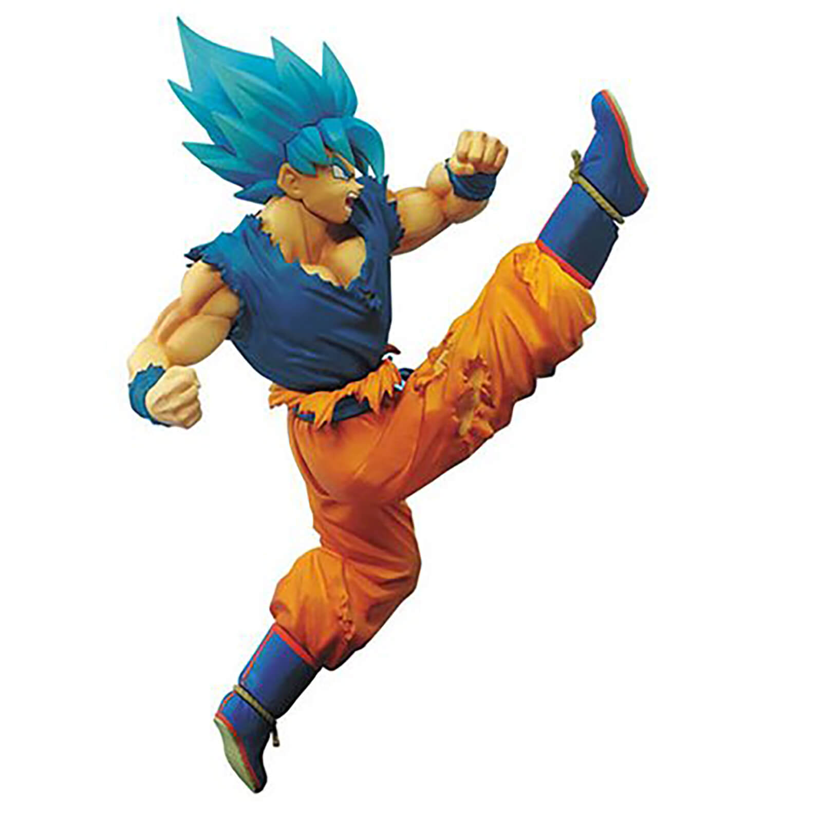 Image of Banpresto Dragon Ball Super SS God Super Saiyan Goku Z-Battle Statue