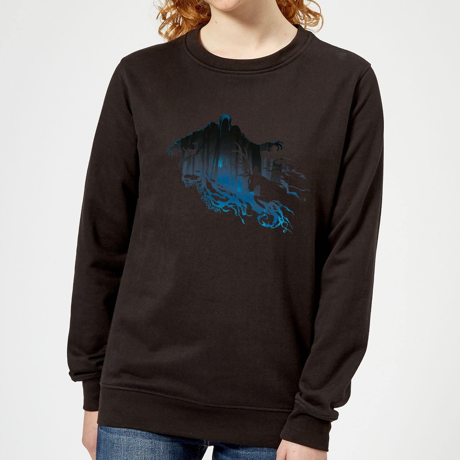 Harry Potter Dementor Silhouette Women's Sweatshirt - Black - XXL - Schwarz