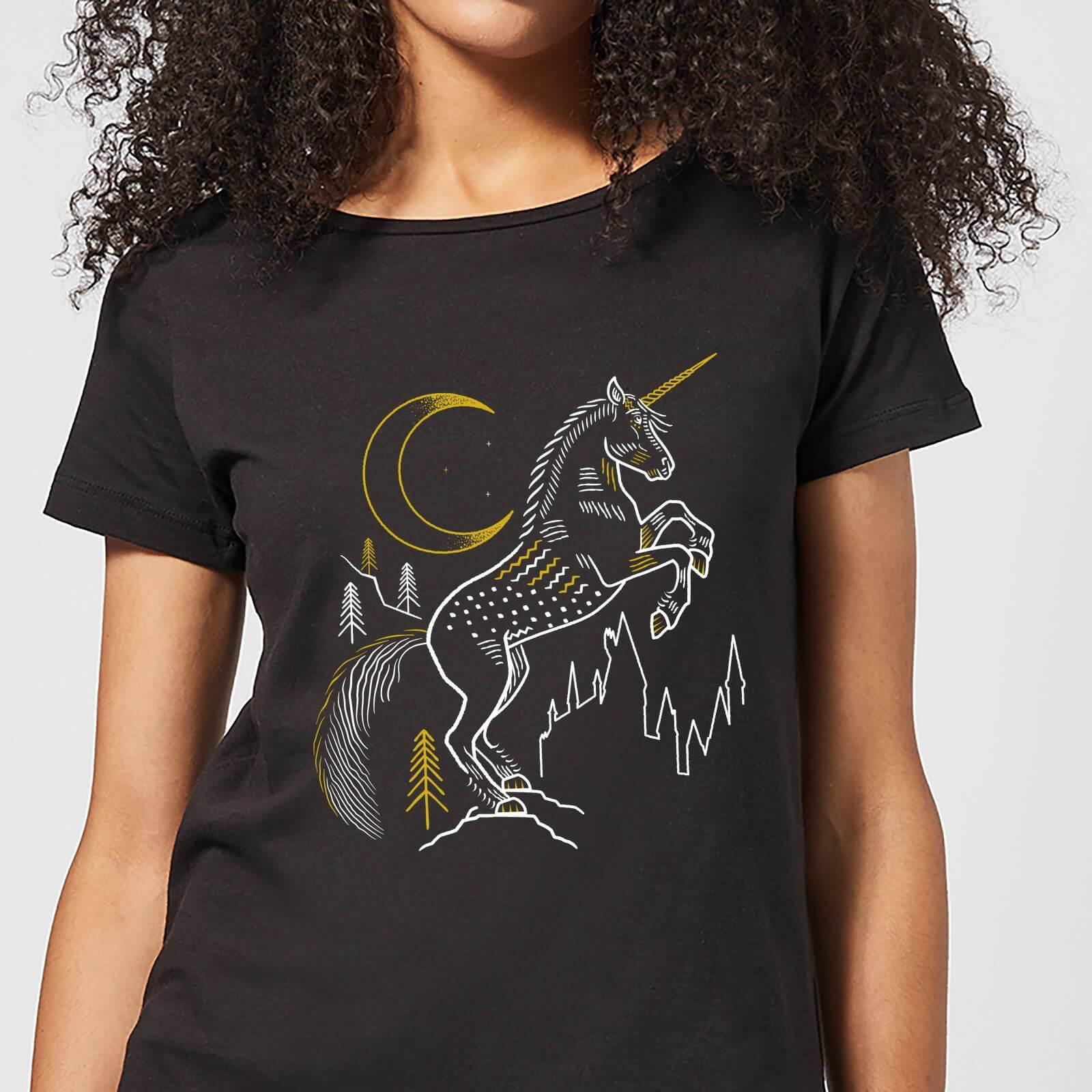 Harry Potter Unicorn Women's T-Shirt - Black - 4XL - Schwarz
