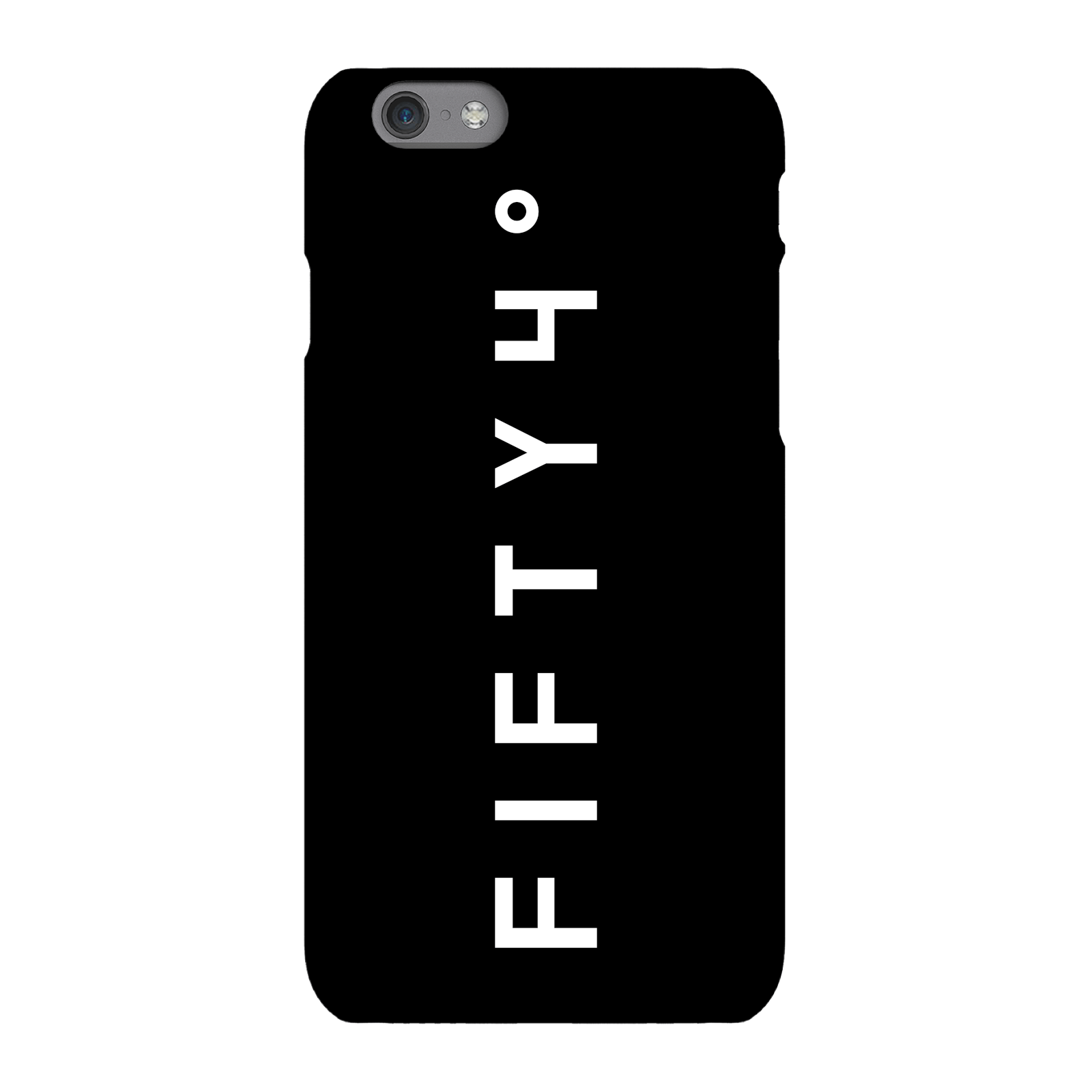 Fifty Four Degree Apparel Dark Phone Case for iPhone and Android - iPhone 6 Plus - Tough Case - Gloss