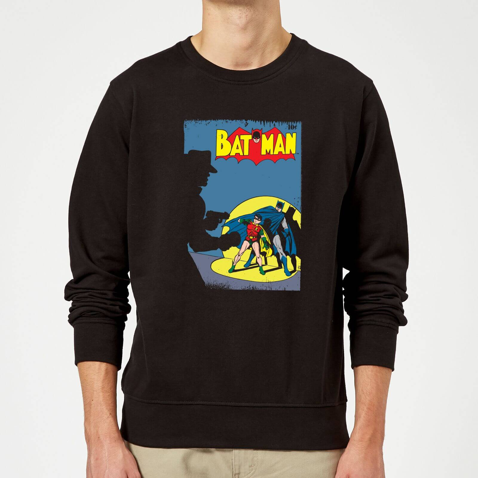 Batman Batman Cover Sweatshirt   Black   5XL   Black