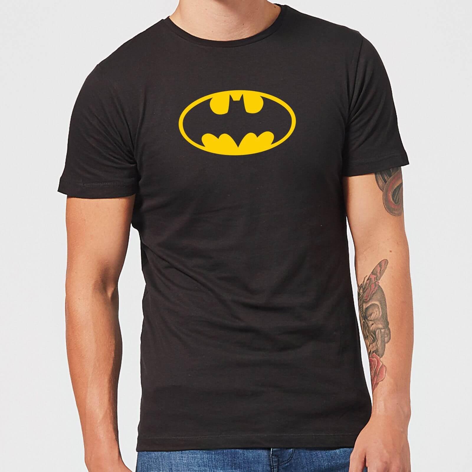 Justice League Batman Logo Mens T Shirt   Black   XXL   Black