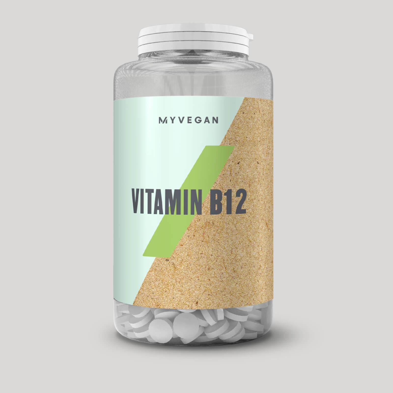 Vitamine B12 végétalienne - 60Comprimés