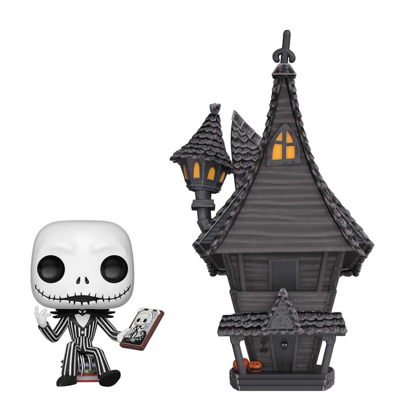 Image of Disney Nightmare Before Christmas Jack's House Pop! Town