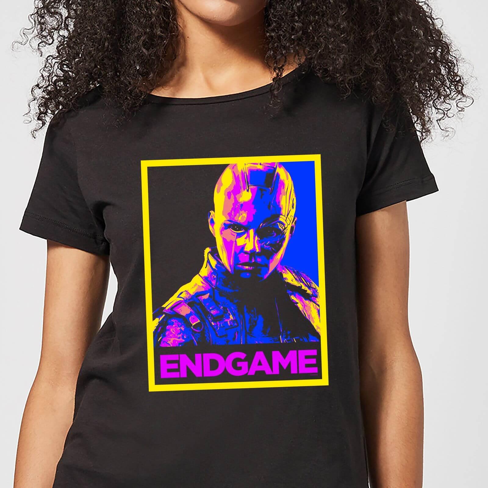 Marvel Avengers Endgame Nebula Poster Women's T-Shirt - Black - S - Black