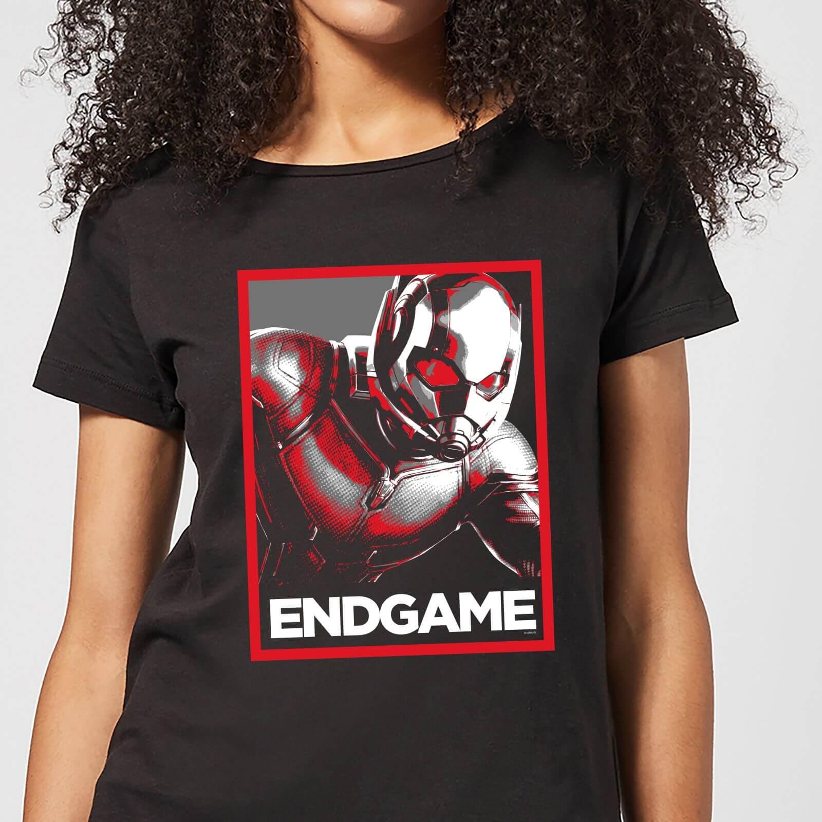 Marvel Avengers Endgame Ant-Man Poster Women's T-Shirt - Black - S - Black