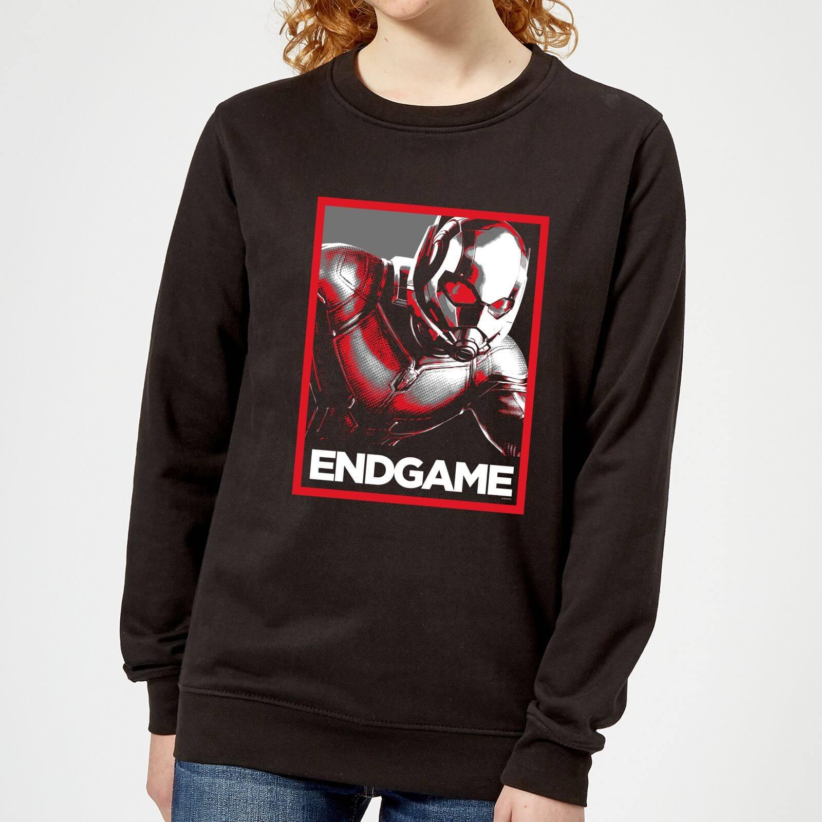 Marvel Avengers Endgame Ant-Man Poster Women's Sweatshirt - Black - 5XL - Black