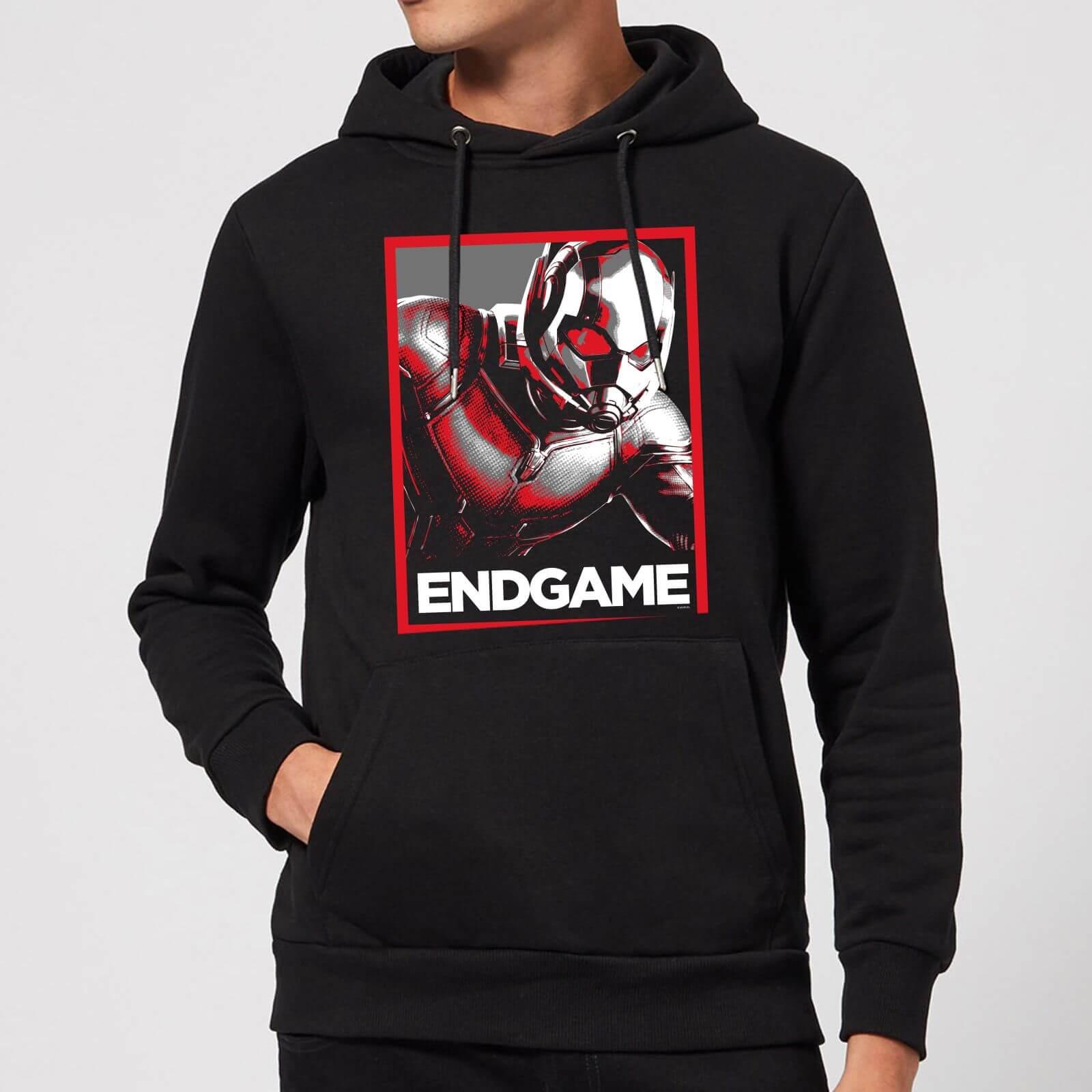 Marvel Avengers Endgame Ant-Man Poster Hoodie - Black - S - Black