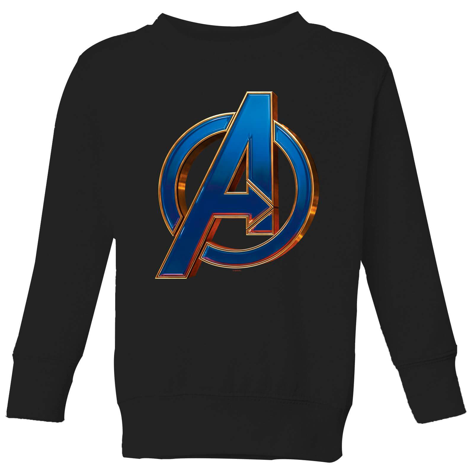 Avengers Endgame Heroic Logo Kids' Sweatshirt - Black - 9-10 Years - Black