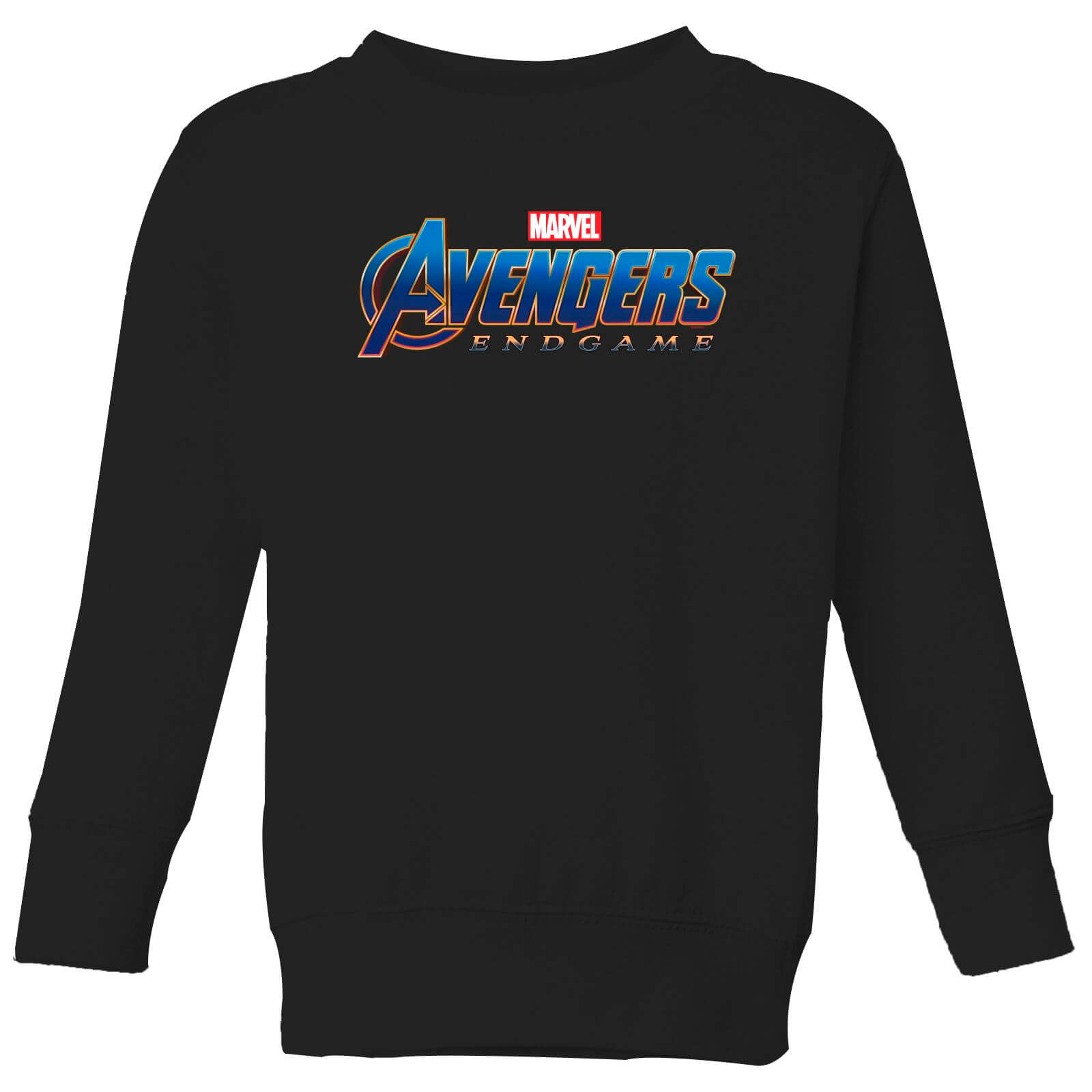 Avengers Endgame Logo Kids' Sweatshirt - Black - 5-6 Years - Black