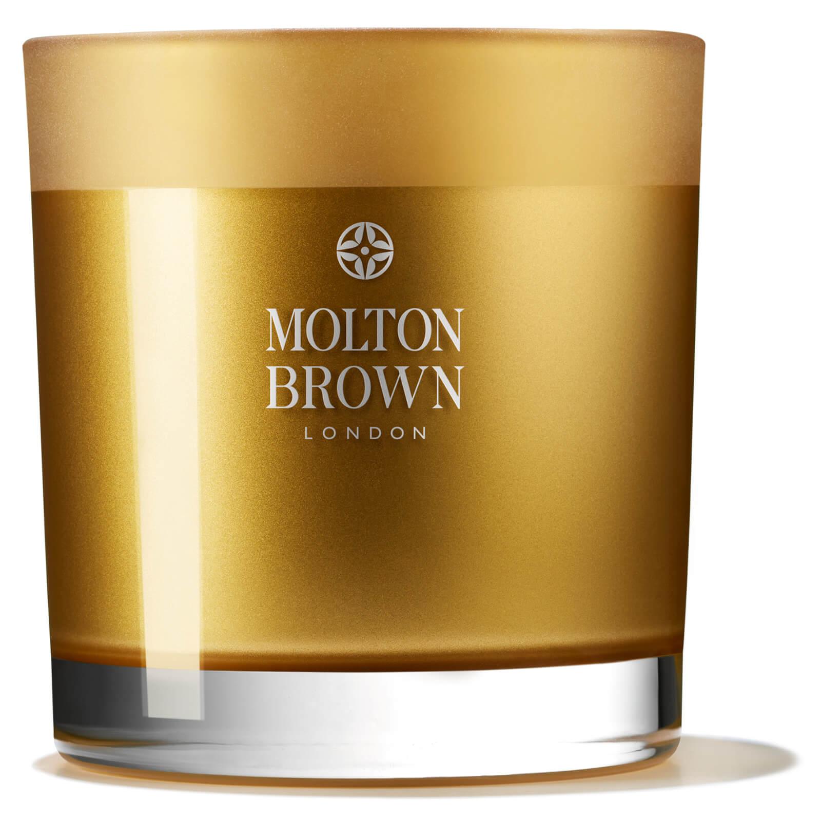 Купить Molton Brown Oudh Accord & Gold Three Wick Candle