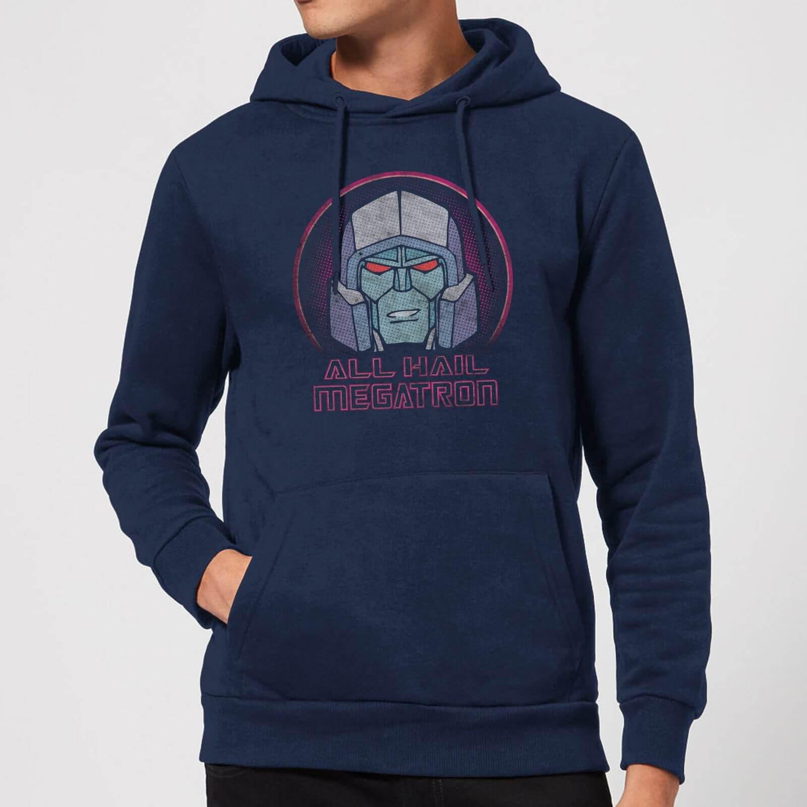Transformers All Hail Megatron Hoodie   Navy   L   Navy