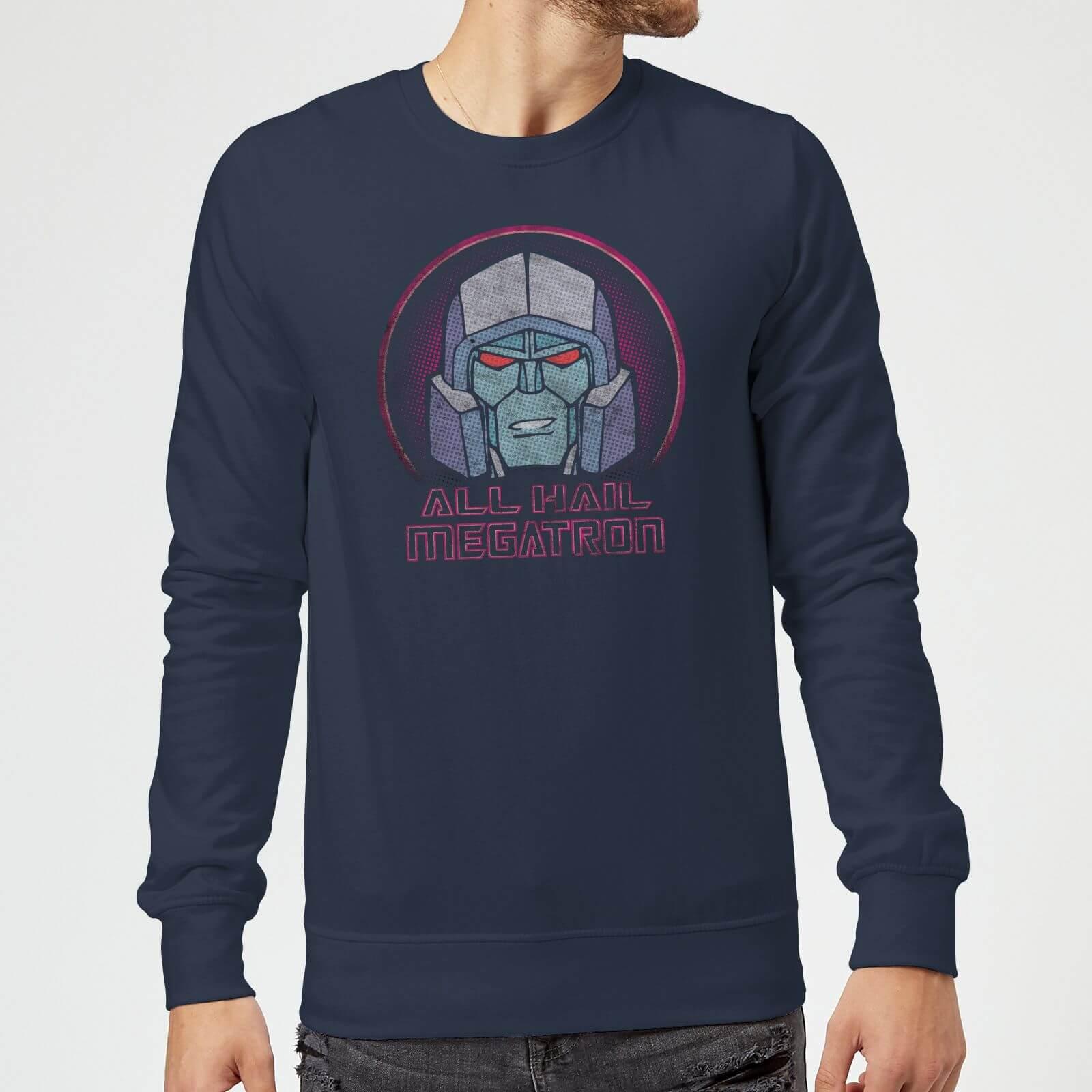 Transformers All Hail Megatron Sweatshirt   Navy   3XL   Navy