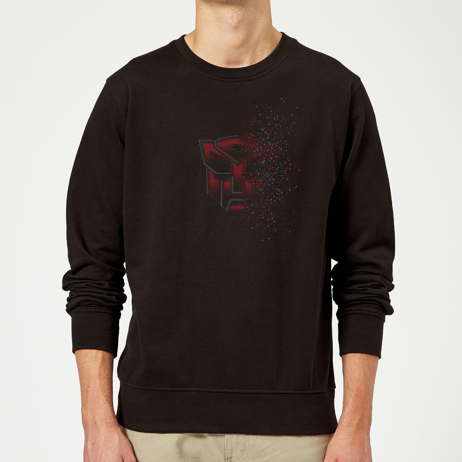 Transformers Autobot Fade Sweatshirt   Black   5XL   Black