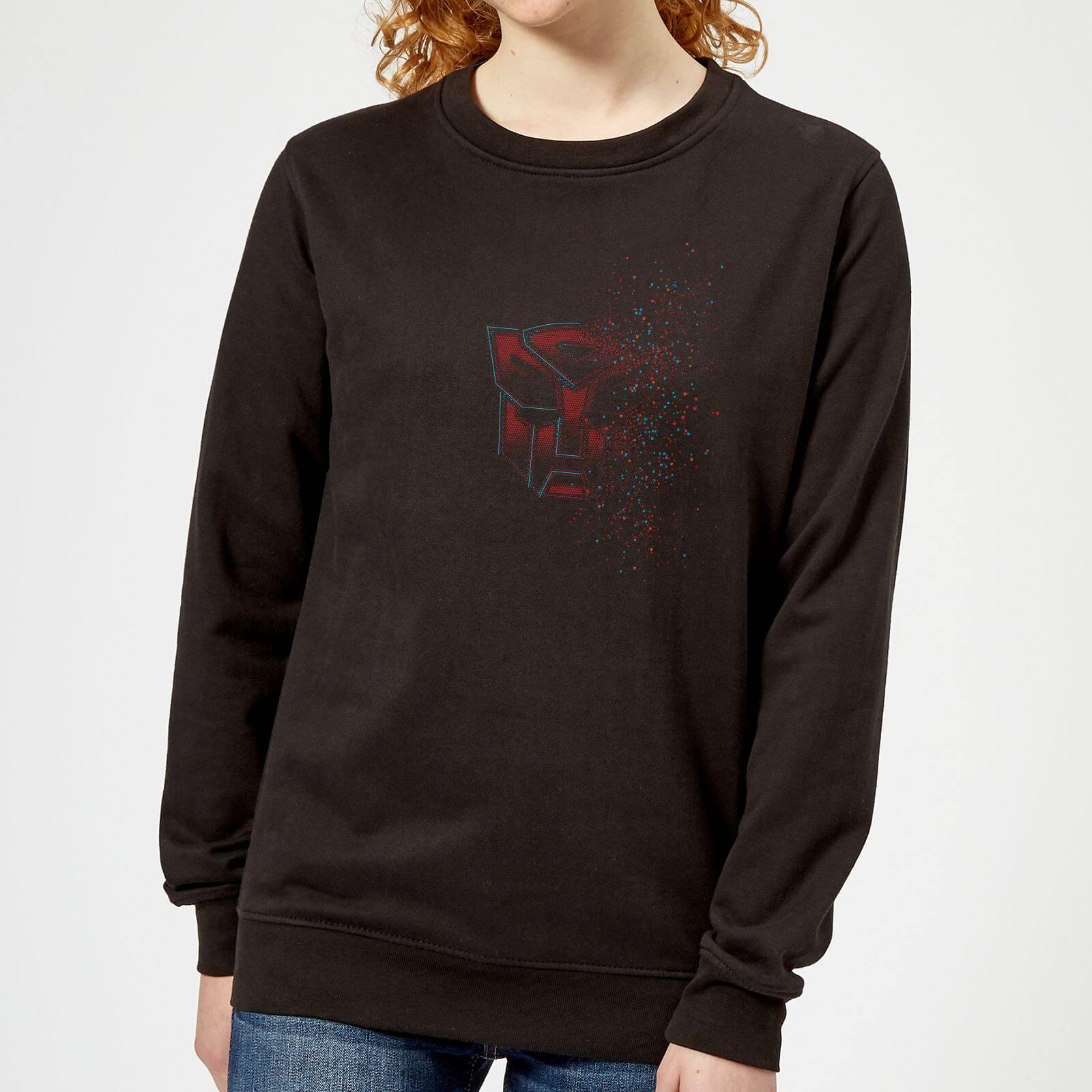 Transformers Autobot Fade Womens Sweatshirt   Black   5XL   Black