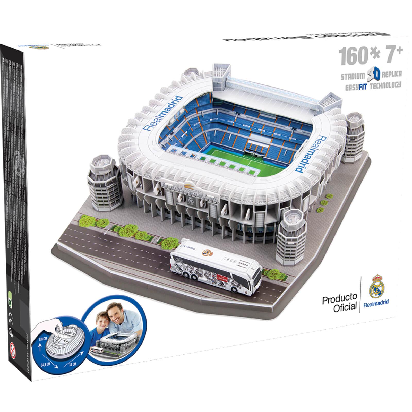 Image of 3D Puzzle Football Stadium - Santiago Bernabeu