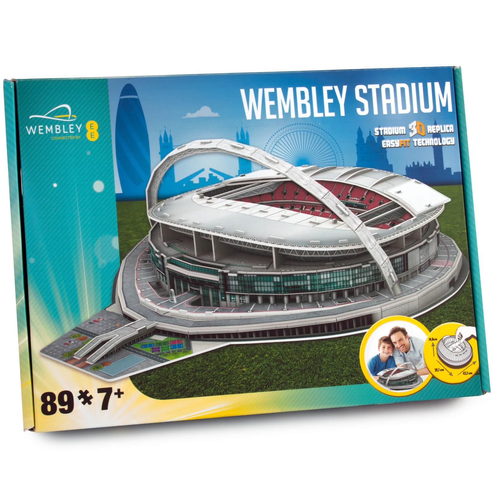 Image of 3D Puzzle Football Stadium - Wembley