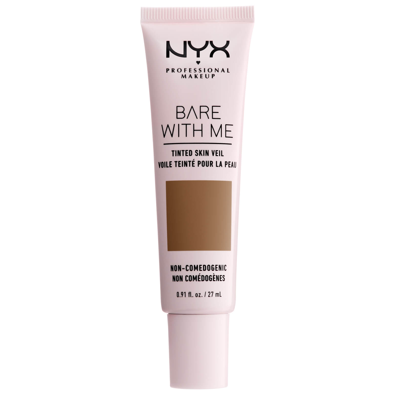 NYX Professional Makeup Bare With Me Tinted Skin Veil BB Cream 27ml (Various Shades) - Nutmeg Sienna