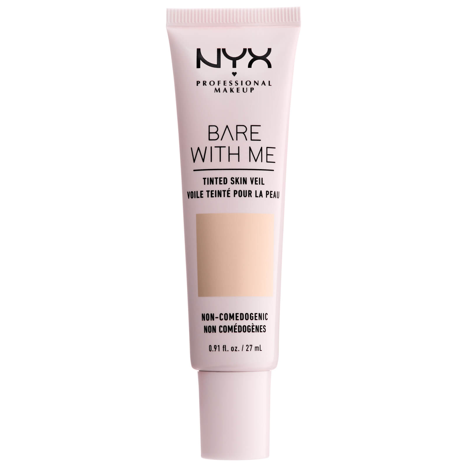nyx professional makeup bare with me tinted skin veil bb cream 27ml (various shades) - pale light