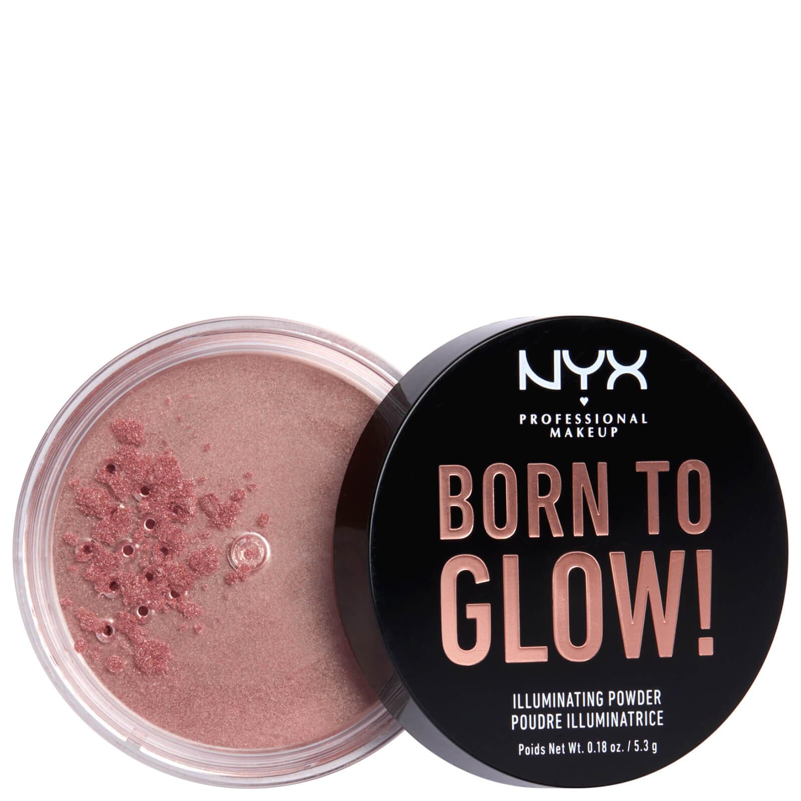 NYX Professional Makeup Born to Glow Illuminating Powder 5.3g (Various Shades) - Eternal Glow