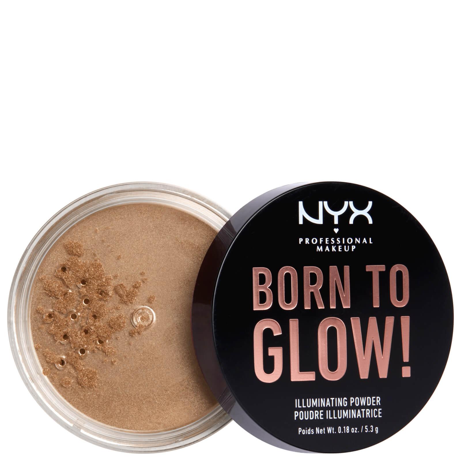 NYX Professional Makeup Born to Glow Illuminating Powder 5.3g (Various Shades) - Warm Strobe