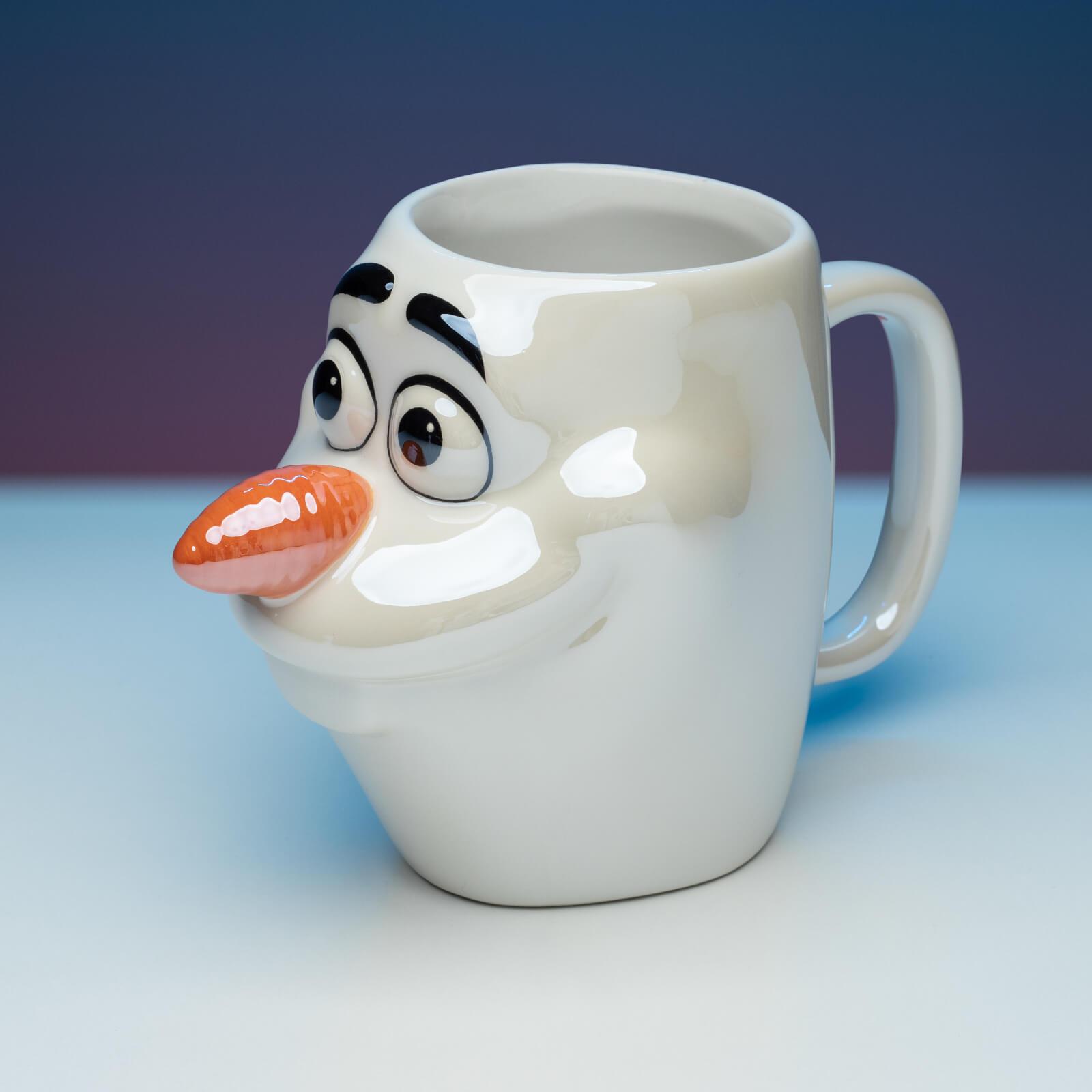 Image of Disney Frozen Olaf Shaped Mug