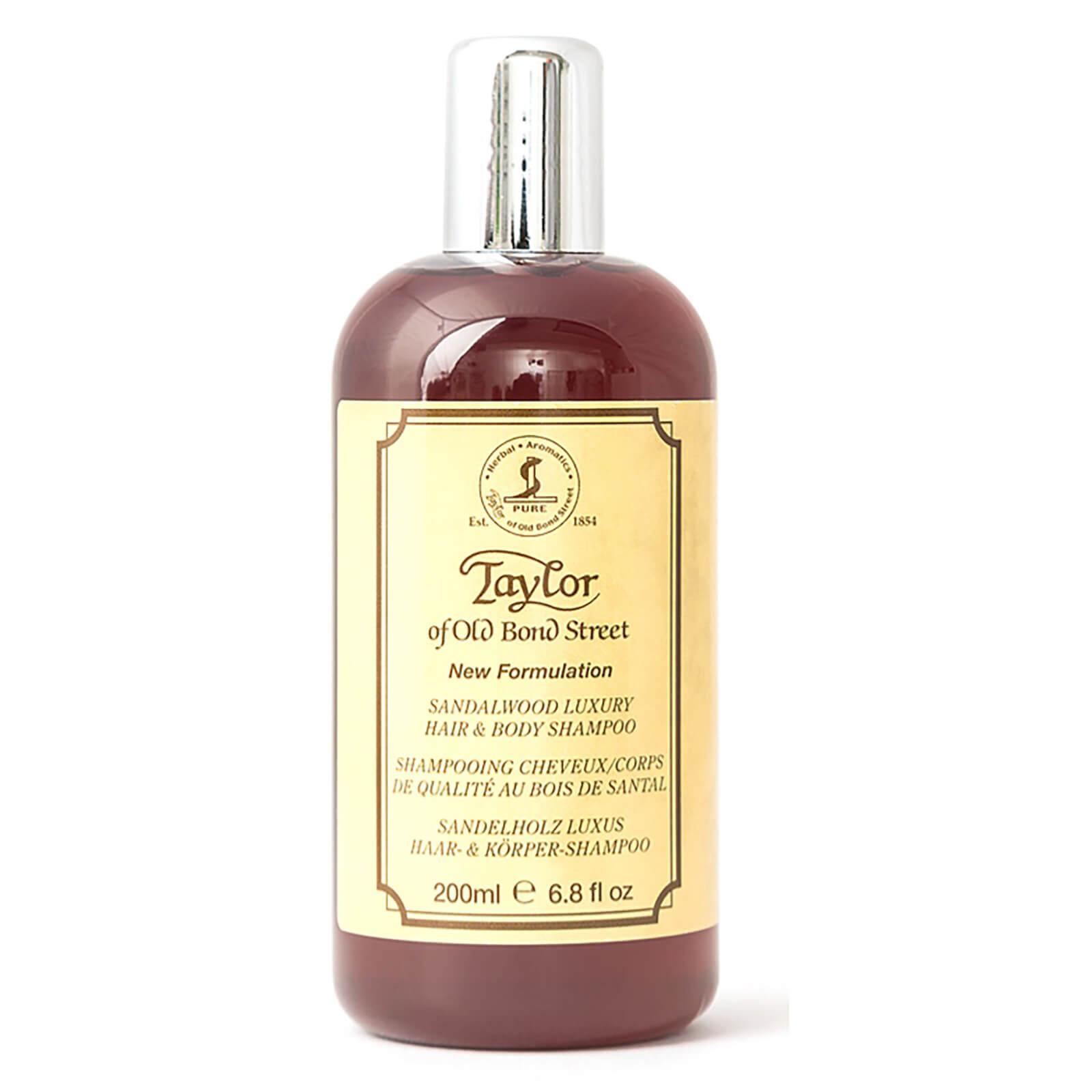 Купить Taylor of Old Bond Street Sandalwood Hair & Body Shampoo 200ml