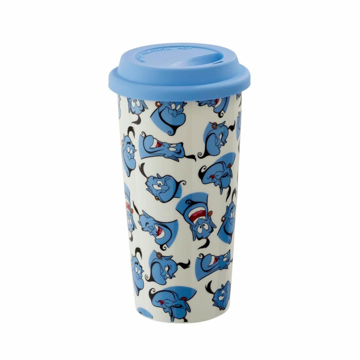 Image of Funko Homeware Disney Aladdin Genie Pattern Lidded Mug
