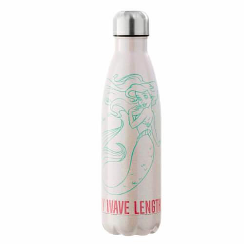 Image of Funko Homeware Disney The Little Mermaid on my Wave Length Metal Water Bottle
