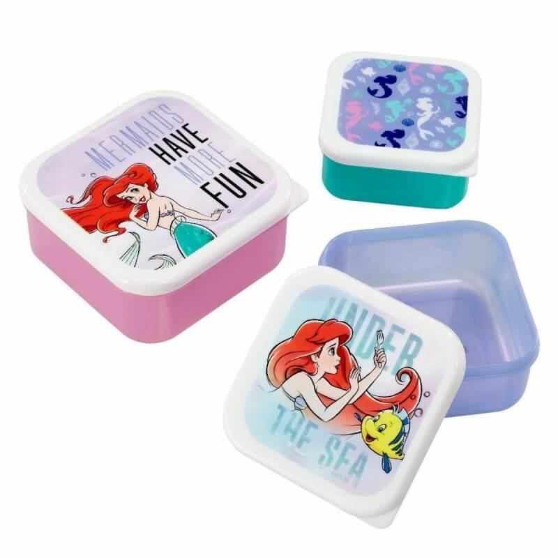 Image of Funko Homeware Disney The Little Mermaid Under the Sea Plastic Storage Set