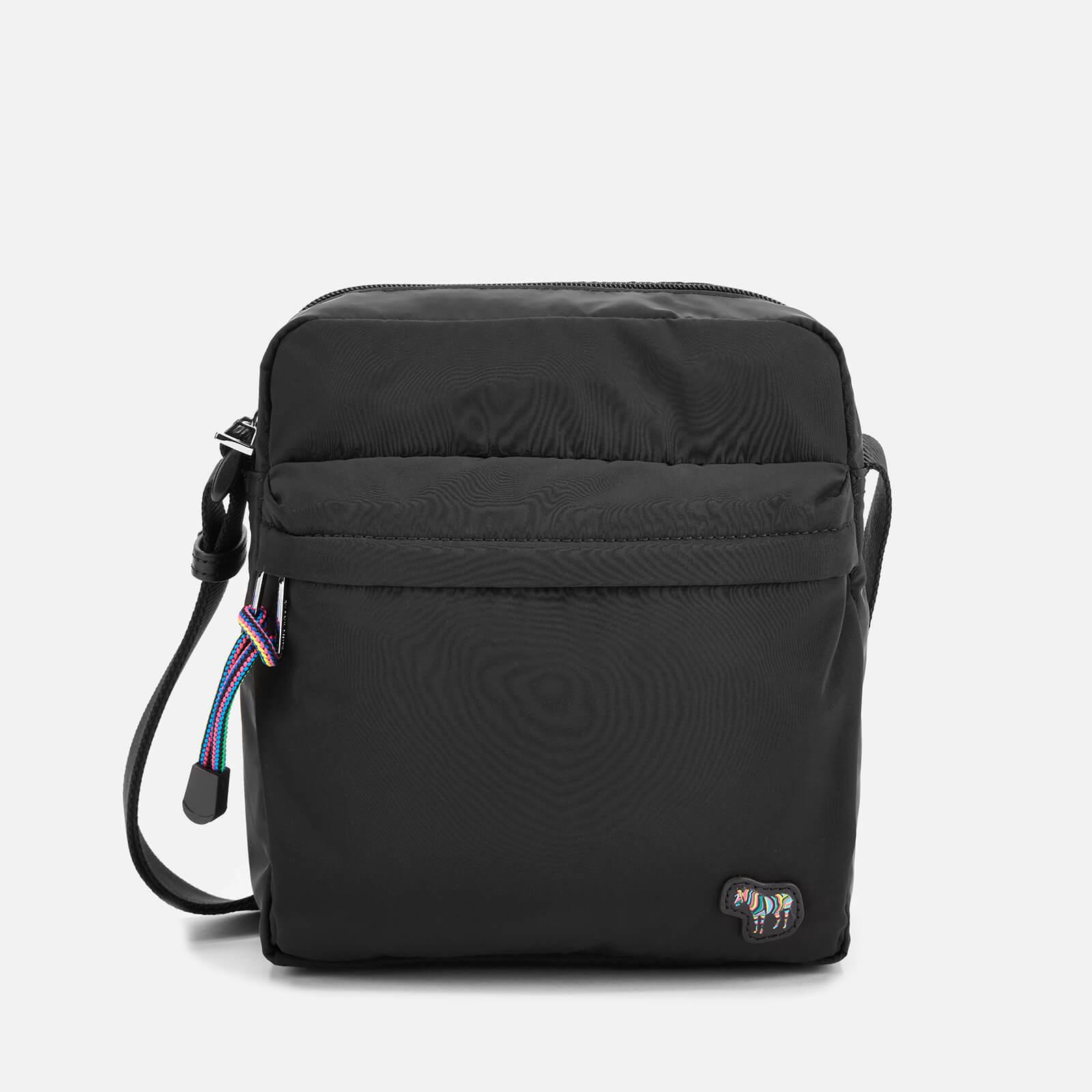 PS Paul Smith Men's Zebra Logo Flight Bag - Black