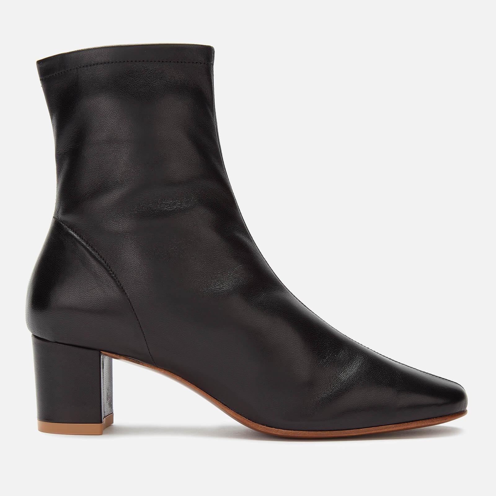 BY FAR Women's Sofia Leather Heeled Boots - Black - UK 7 - Black