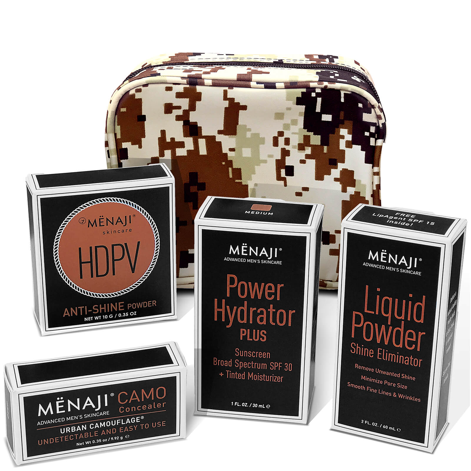 Купить Menaji Camera Ready Kit (Various Shades) - Light