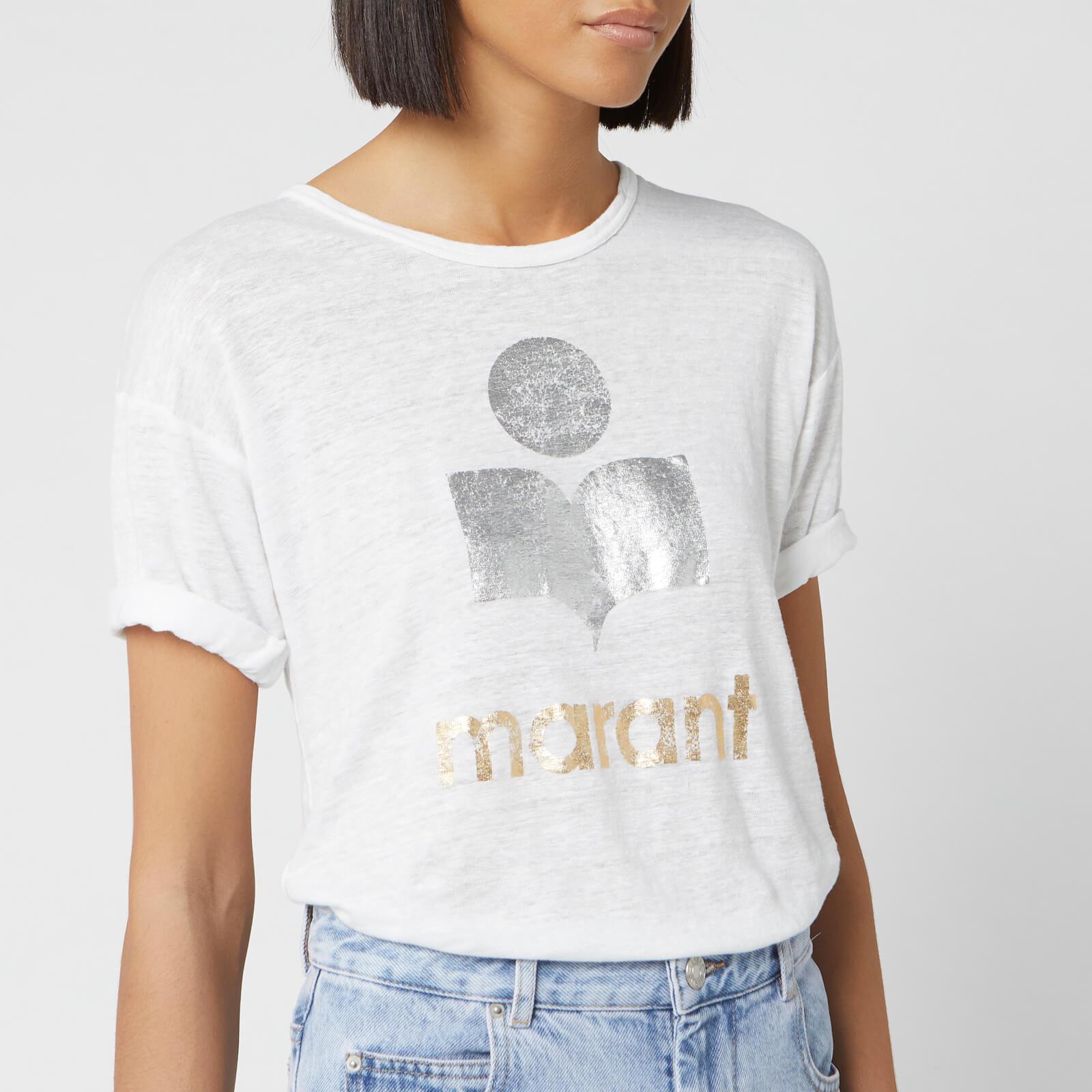 Isabel Marant Étoile Women's Koldi T-Shirt - White - S - White