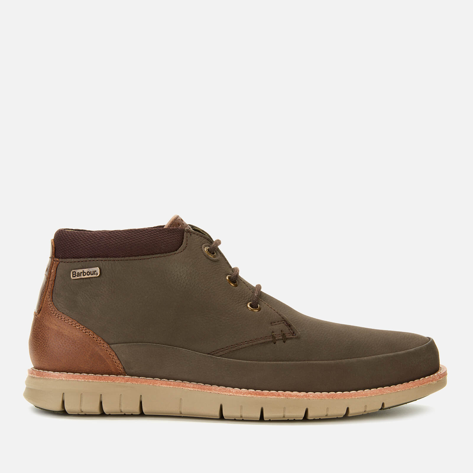Click to view product details and reviews for Barbour Mens Nelson Nubuck 3 Eye Chukka Boots Brown Uk 7.
