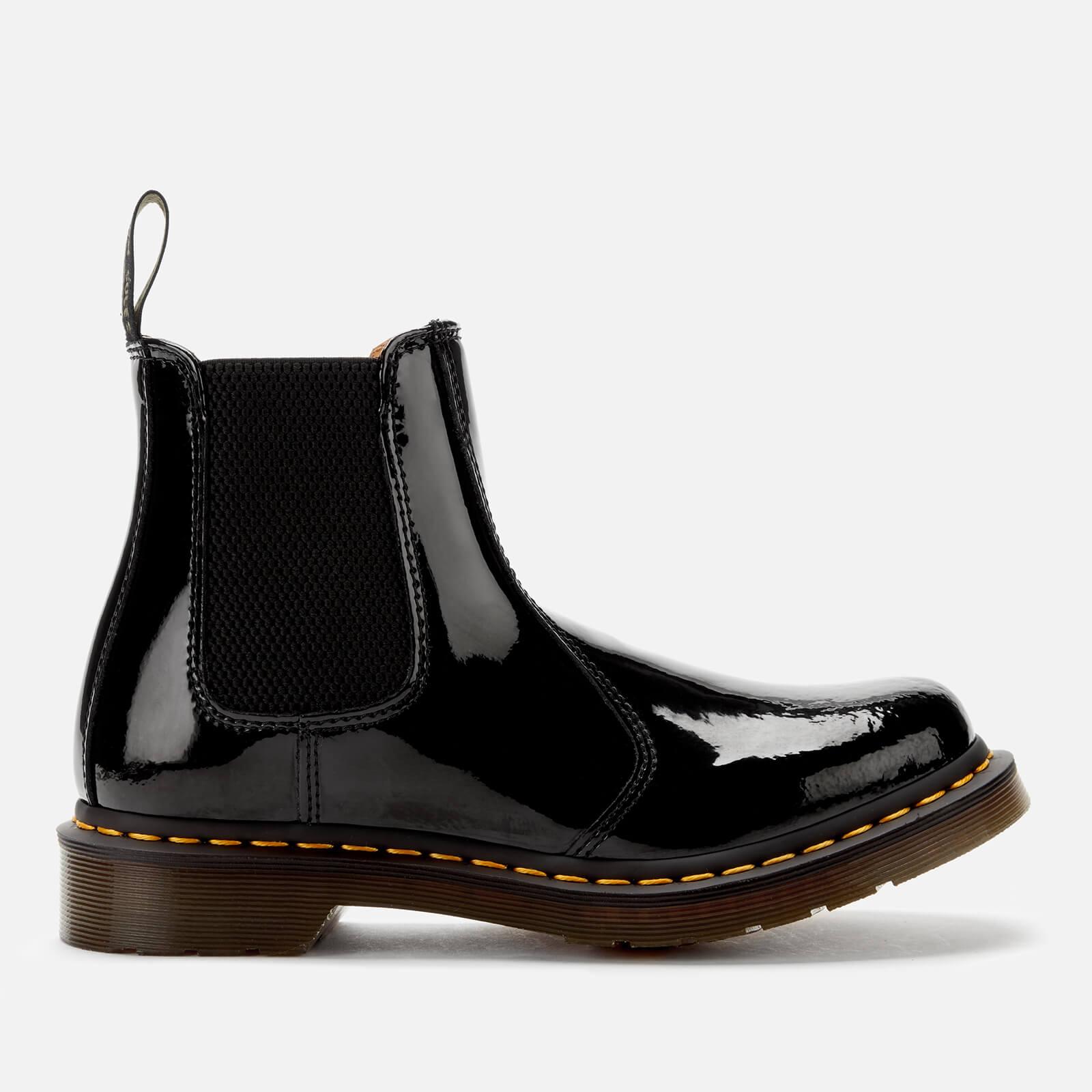 Dr. Martens Women's 2976 Patent Lamper Chelsea Boots - Black - Uk 3