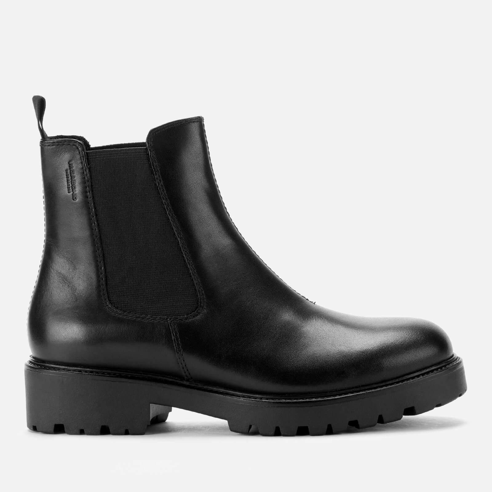Vagabond Women's Kenova Leather Chunky Chelsea Boots - Black - Uk 3