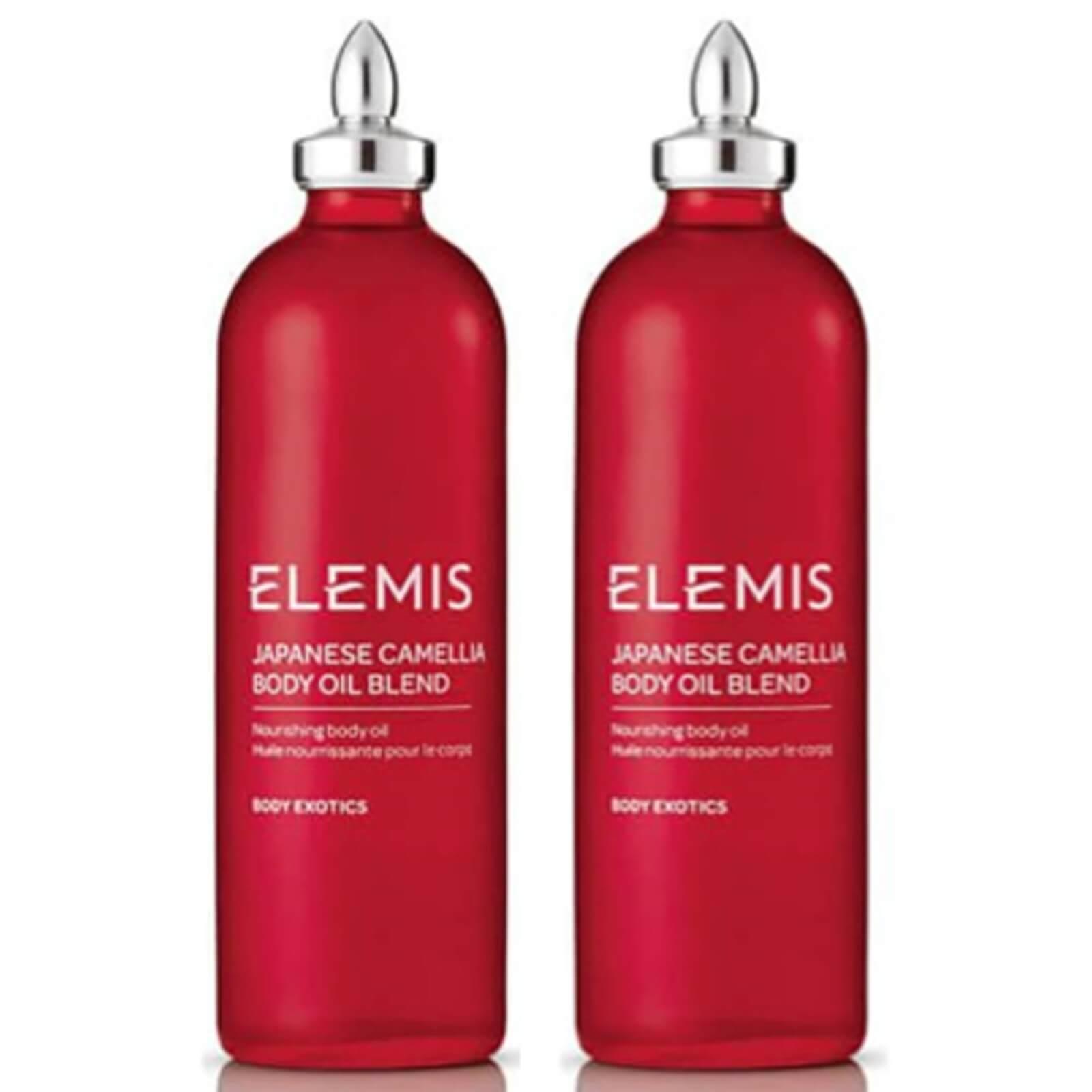 Купить Elemis Japanese Camellia Body Oil Blend 100ml Duo