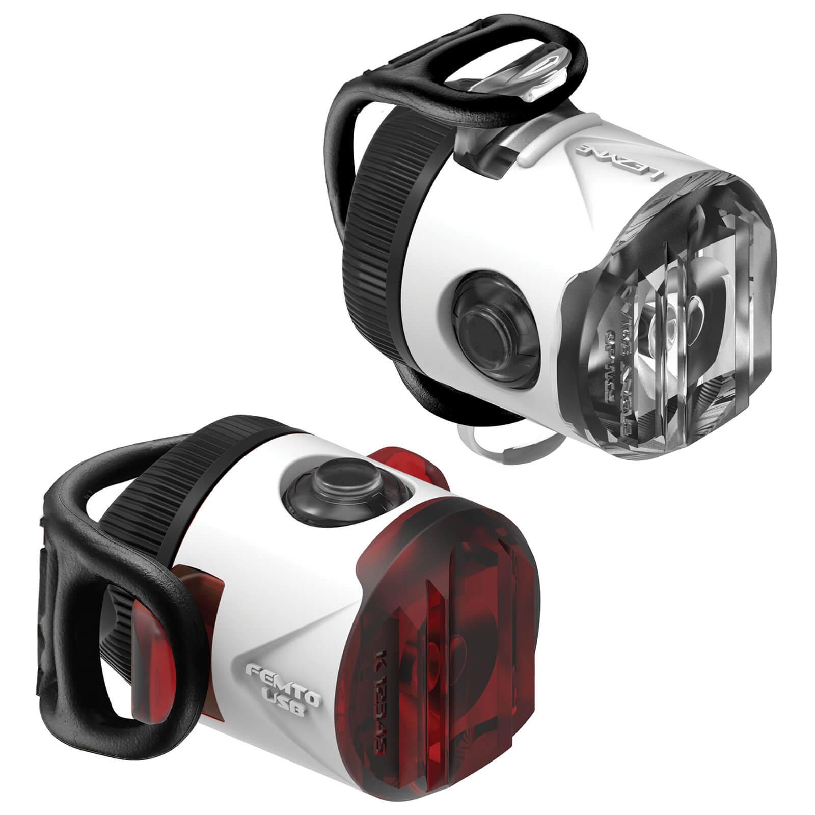 Lezyne LED Femto USB Drive Light Set - Weiß