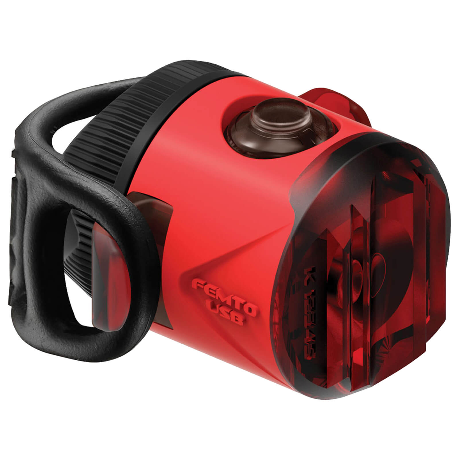 Lezyne LED Femto Drive USB Rear Light - Red