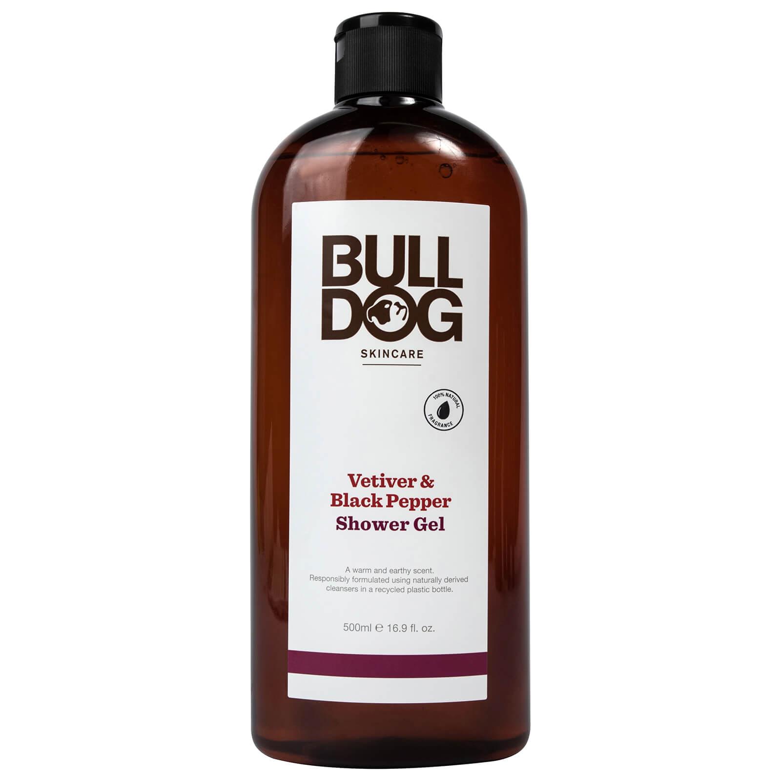 Купить Bulldog Black Pepper & Vetiver Shower Gel 500ml